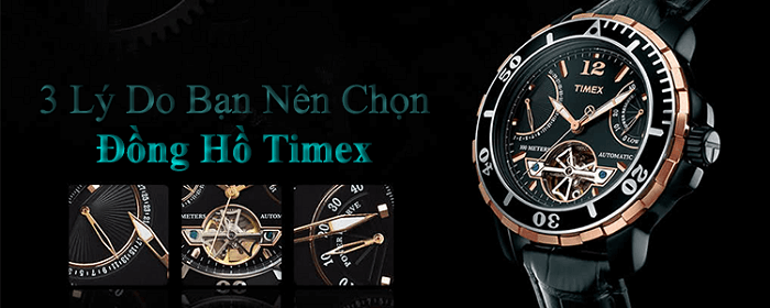 3 ly do nen mua dong ho timex chinh hang