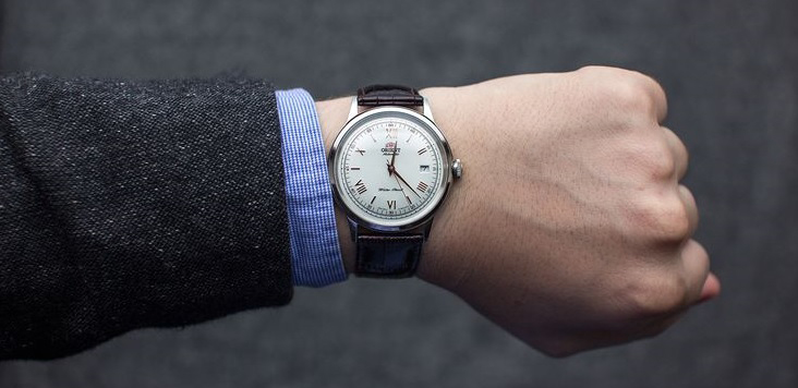 Orient bambino gen 2 with suit