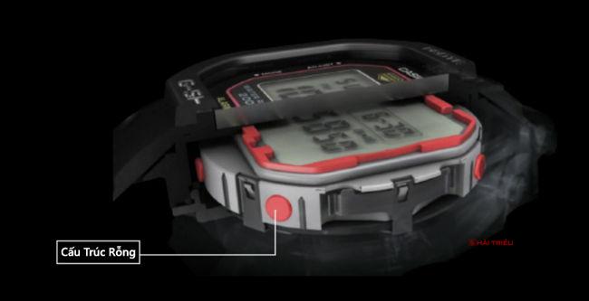 Hé Mở Bí Ẩn Cách Chống Sốc Của Đồng Hồ Casio G-Shock Rỗng