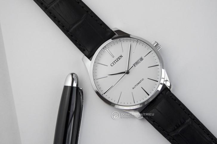 Đồng hồ Citizen NH8350-08B automatic, trữ cót lên 40 giờ - Ảnh 2