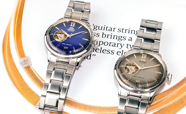 Khám Phá Dòng Đồng Hồ Orient Helios, Thần Mặt Trời Phương Đông blue RA-AG0028L10 grey RA-AG0029N10