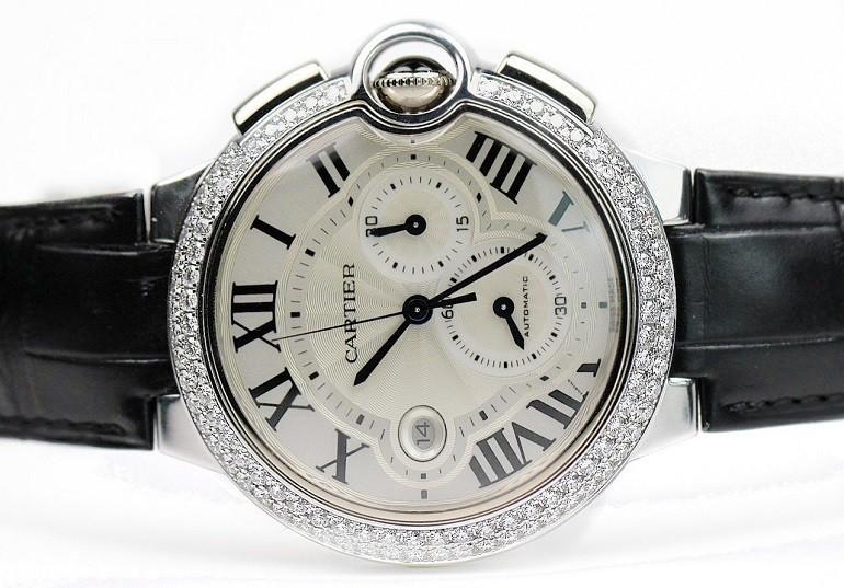 5 hãng đồng hồ nam automatic (Thụy Sỹ) nổi tiếng về đính kim cương - Ảnh: 6