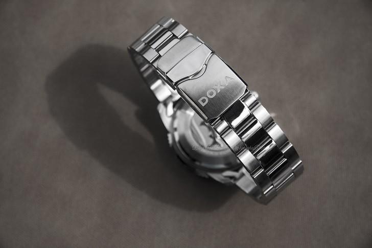 Đồng hồ Doxa D162SBY có bezel xoay, dạ quang Super-LumiNova - Ảnh: 10