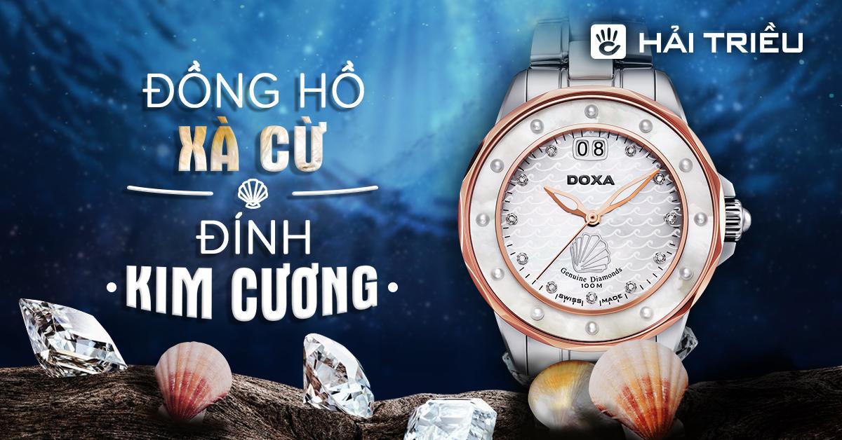 Đồng hồ kim cương xà cừ