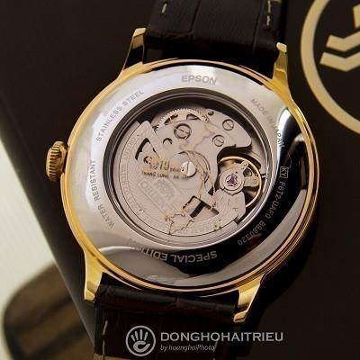 Đánh giá đồng hồ Orient 1010, kỷ niệm 1010 năm Thăng Long - Ảnh: Bộ máy
