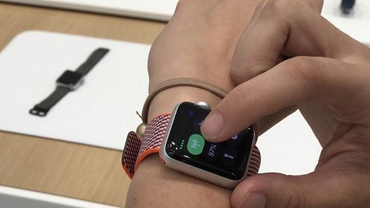 Đồng hồ Apple Watch series 3 38mm GPS màu đen chính hãng - Ảnh: 7